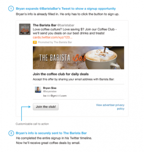 Lead Generation Sample from Twitter