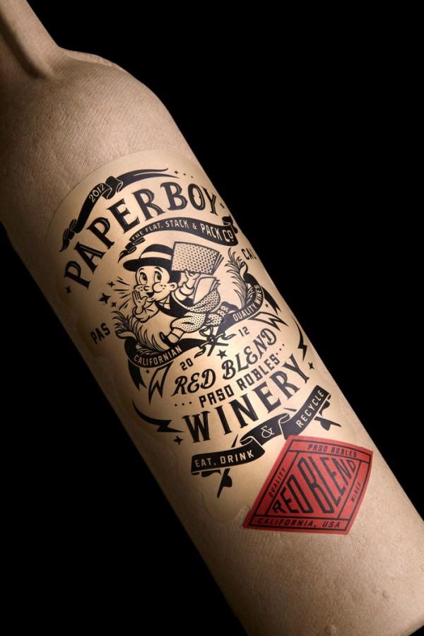 Paperboy, Paper Bottle
